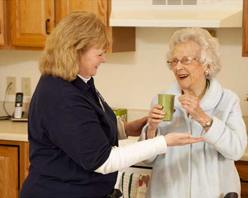 in-home assistance service at Laurel View Village